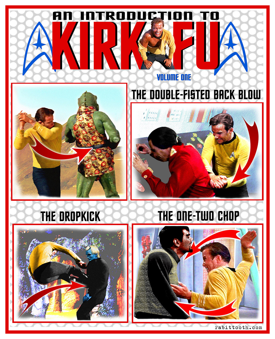 Graphic Print: An Introduction to Kirk-Fu