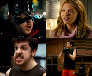 Four New Kick-Ass 2 Clips: The M-F vs. Hit Girl