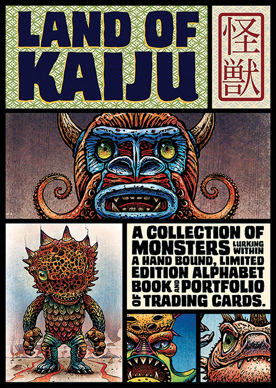 Land of Kaiju Book and Trading Cards at SDCC