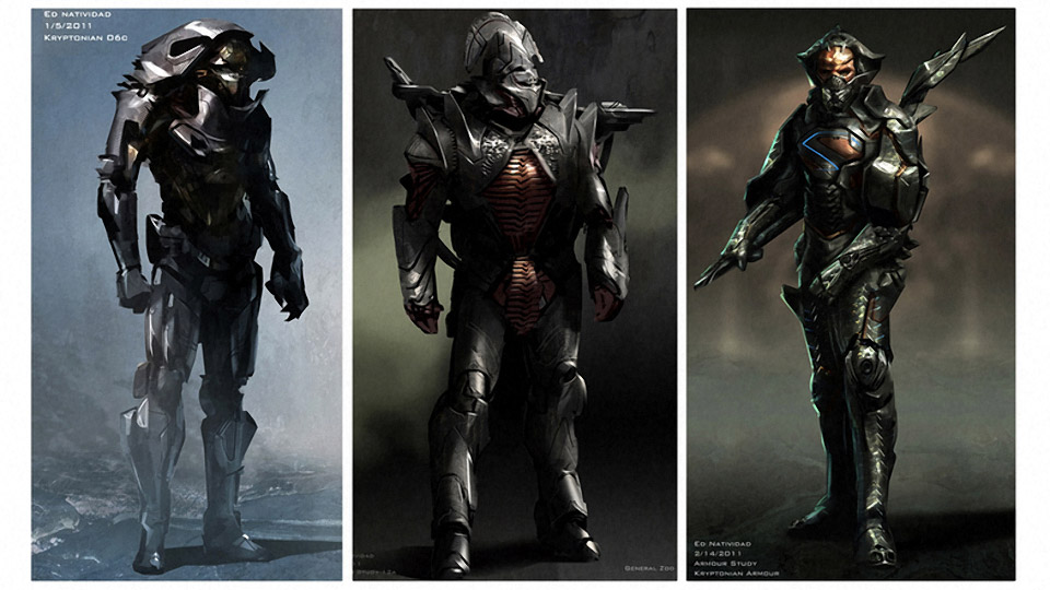 Man of Steel Alternate Costume Designs
