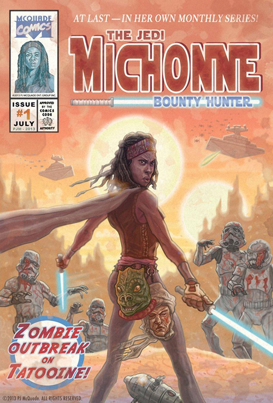Zombie Stormtroopers Invade Star Wars: Fan Art