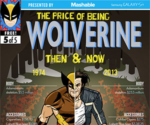 The Price of Being a Superhero: Then & Now