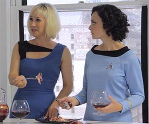 Cooking: Star Trek: Making Klingon Gagh and Blood Wine