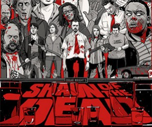 Limited Edition Shaun of the Dead Posters