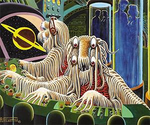Flying Spaghetti Monster Seen in 1951?