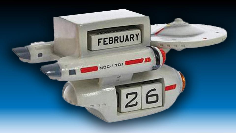 Star Trek Enterprise Perpetual Calendar