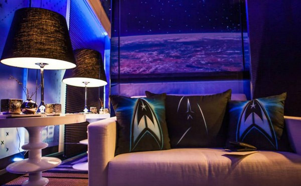 Star Trek Themed Hotel Room