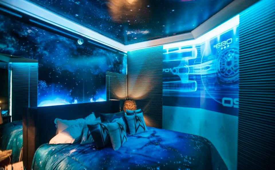 Star Trek Themed Hotel Room in Sao Paulo