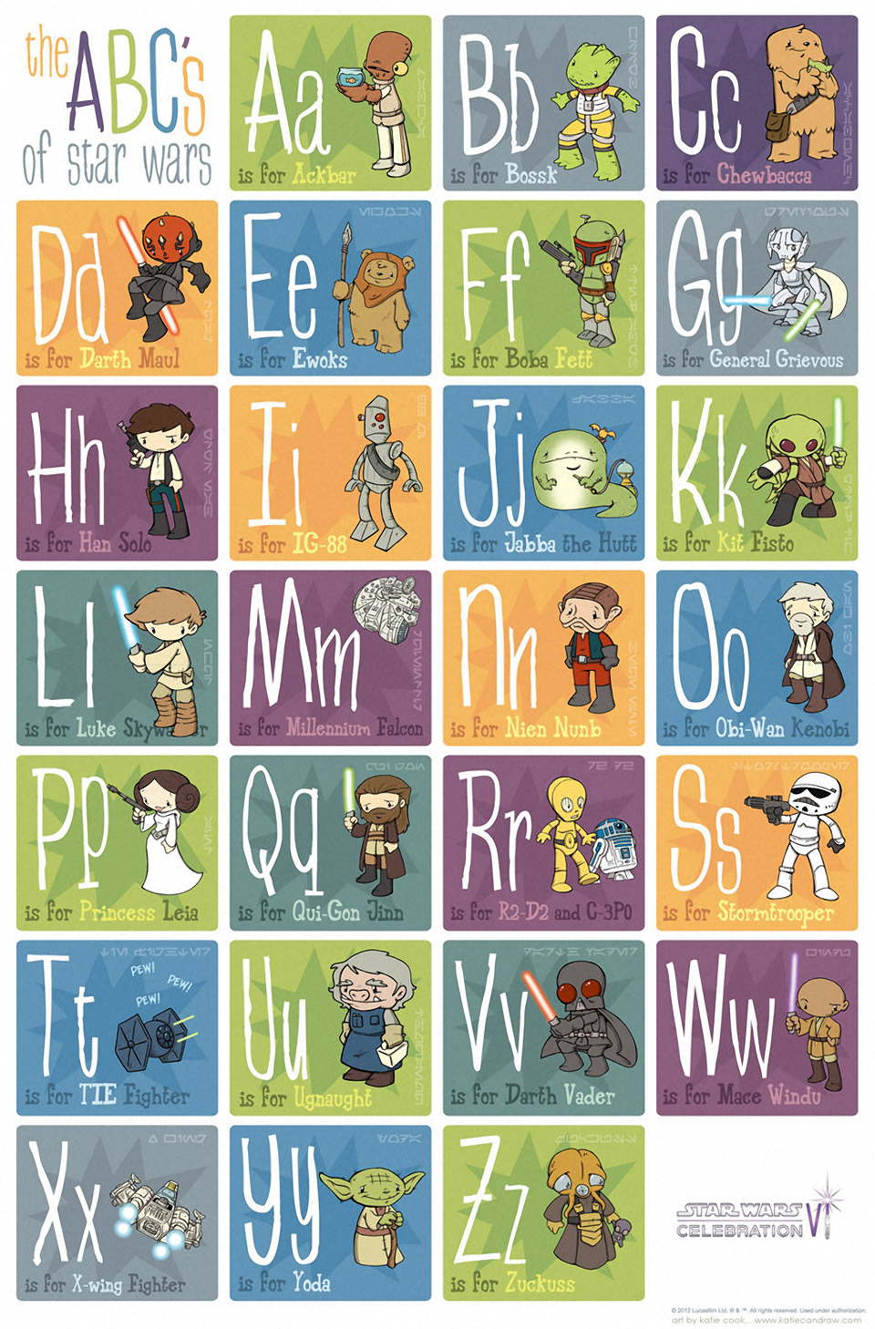 """T"" is for TIE Fighter: The ABCs of Star Wars"