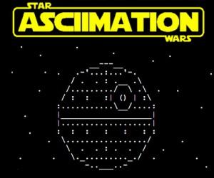 Star Wars Episode IV: ASCII-mation
