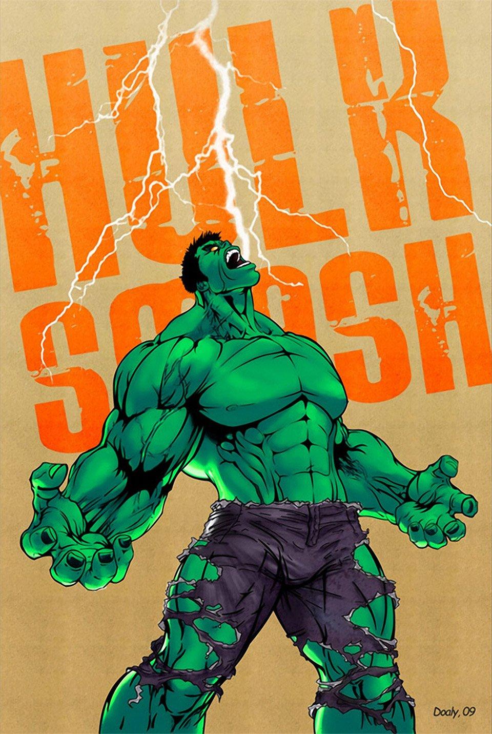 Superhero Fan Art Posters
