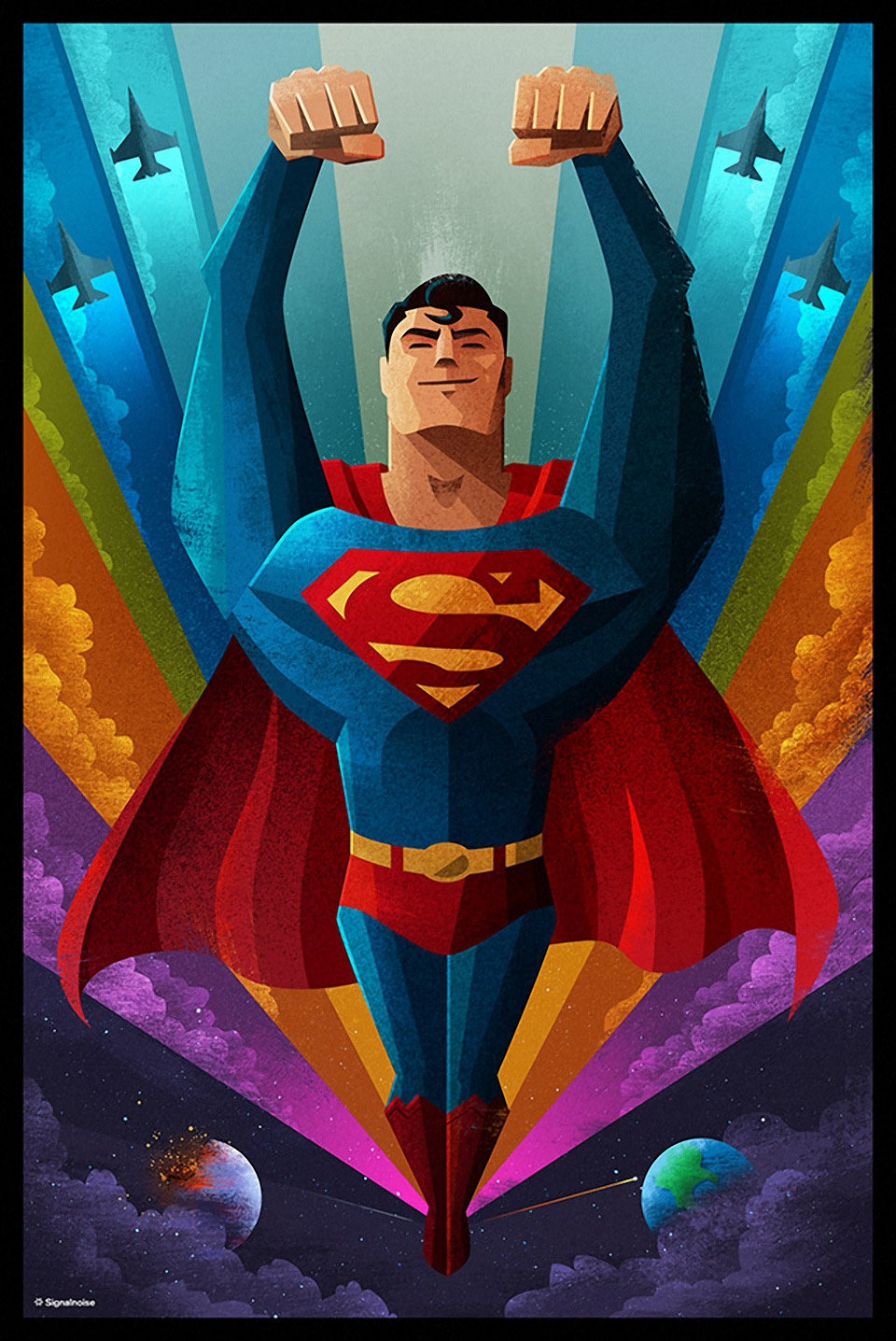Wonderful Superman Artwork