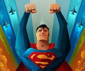 Wonderful Superman Artwork