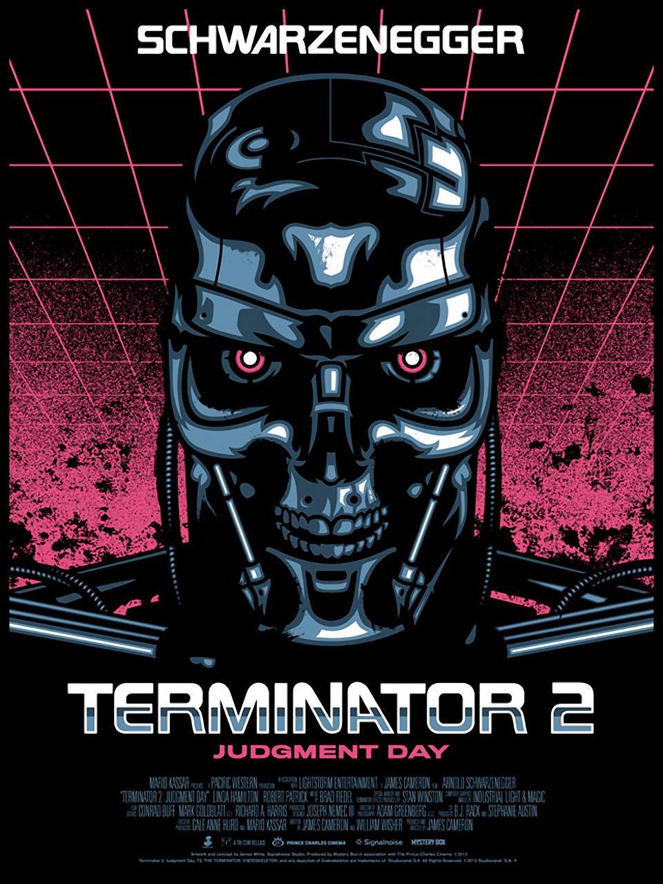 Intimidating Terminator 2: Judgment Day Prints