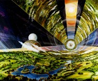 Cylindrical Colony: Looking Out. Rick Guidice.