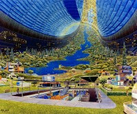 Toroidal Colony: Interior View. Don Davis.