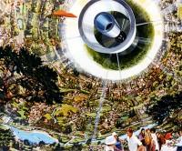 Bernal Sphere: Interior. Rick Guidace.