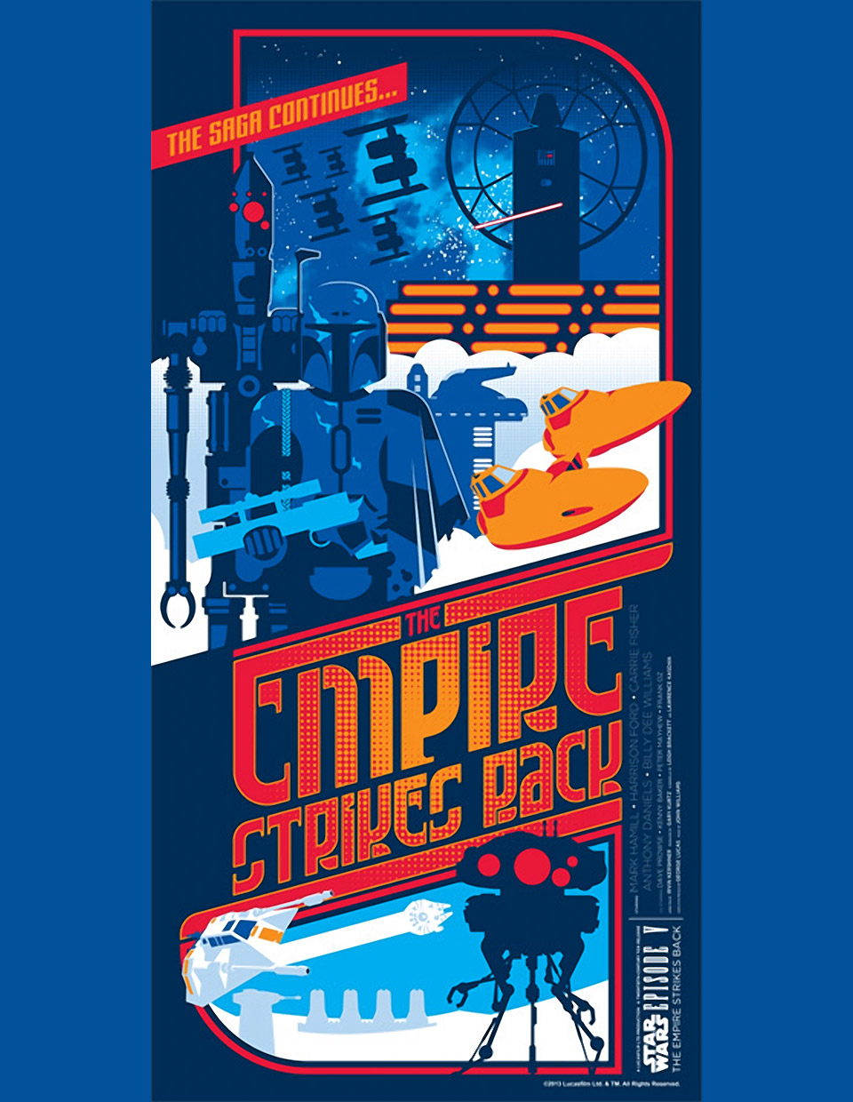 Limited Edition The Empire Strikes Back Print