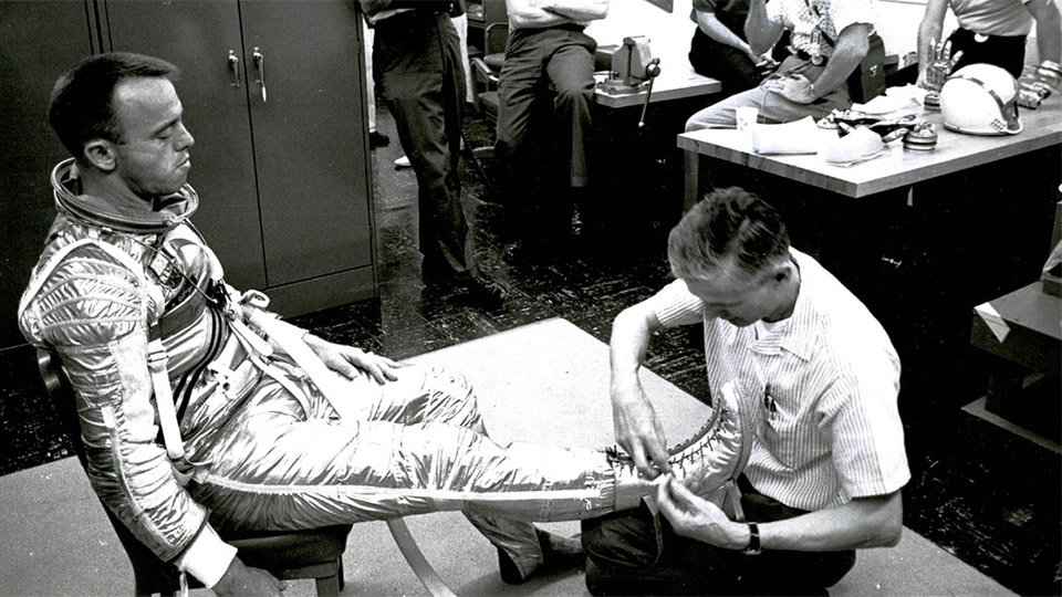 13 Things Done to Prepare Alan Shepard for Space