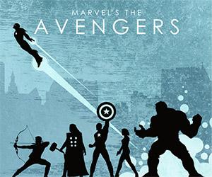 Marvel Avengers Assembled Blu-ray Cover Art