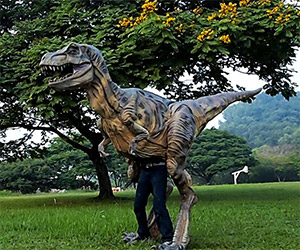Awesome 16′ Baby T-Rex Costume Can Be Yours