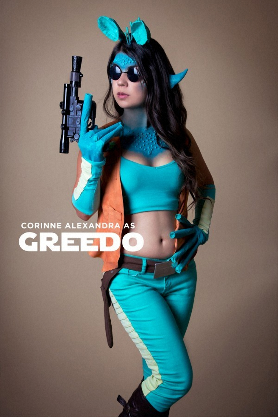 Terrifically Stunning Greedo Cosplay by Corinne Alexandra