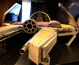 Buy Your Kid's Love, You Will: Deep Space Fighter Bed