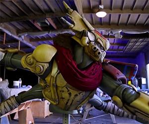 Awesome Destiny Fallen Captain Statue Revealed