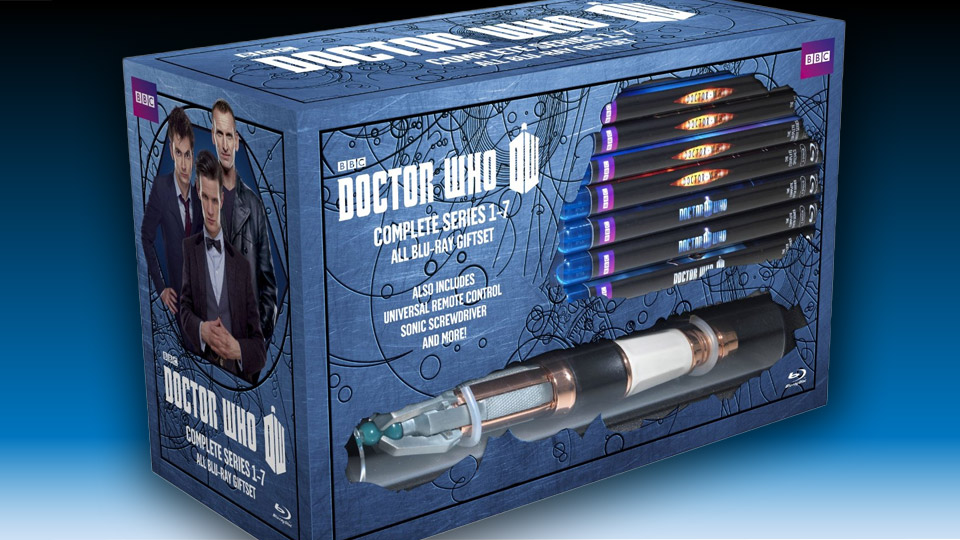 Doctor Who: Series 1-7 Limited Edition Blu-ray Set