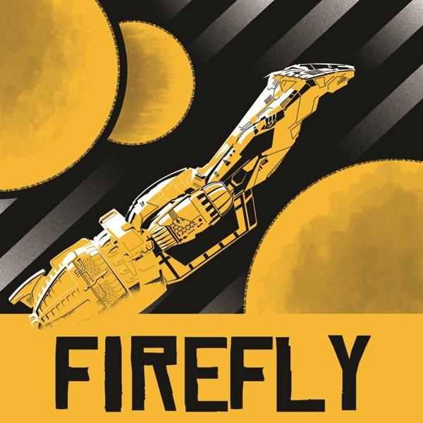 Beautiful Firefly Fan Art Posters - MightyMega