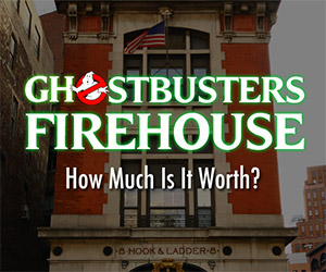 What is the Ghostbusters Firehouse Worth?