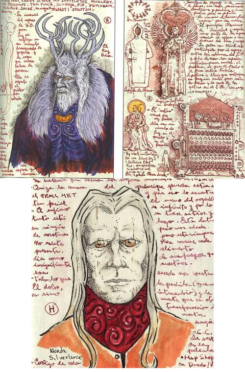Guillermo del Toro's Concept Art Sketchbooks - MightyMega