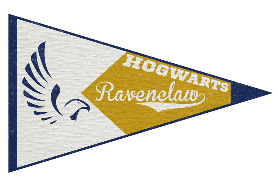 Harry Potter: Hogwarts House Pennants