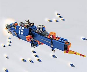 Homeworld Recreated in LEGO