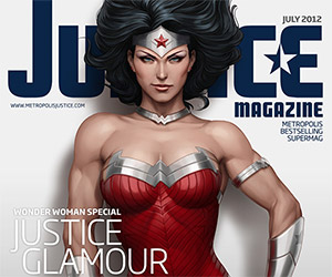Fantastic, Fictional Justice Magazine Cover Art