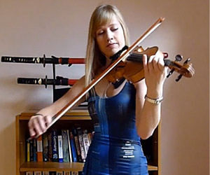 I Am the Doctor Music Piece Played on Violin