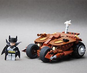 Awesome LEGO Steampunk Batcave