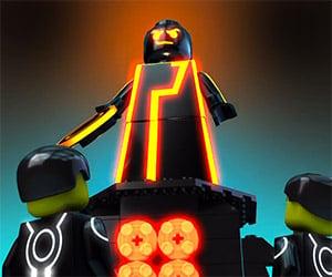 LEGO Tron: An Homage to Tron Uprising