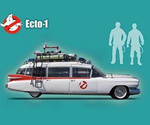 MattyCollector Ghostbusters Ecto-1