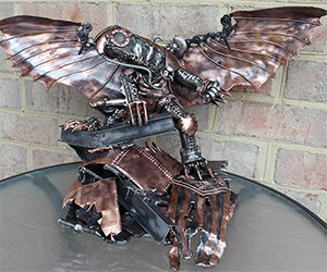 Bioshock Infinite Songbird Metal Sculpture