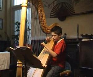 Star Wars Mos Eisley Cantina Song on Harp