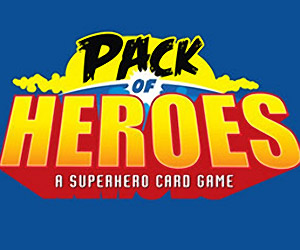Pack of Heroes: A Vintage Comic Superhero Card Game