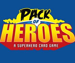 Pack of Heroes: A Vintage Comic Superhero Card Game