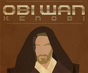 Star Wars Character Poster Fan Art