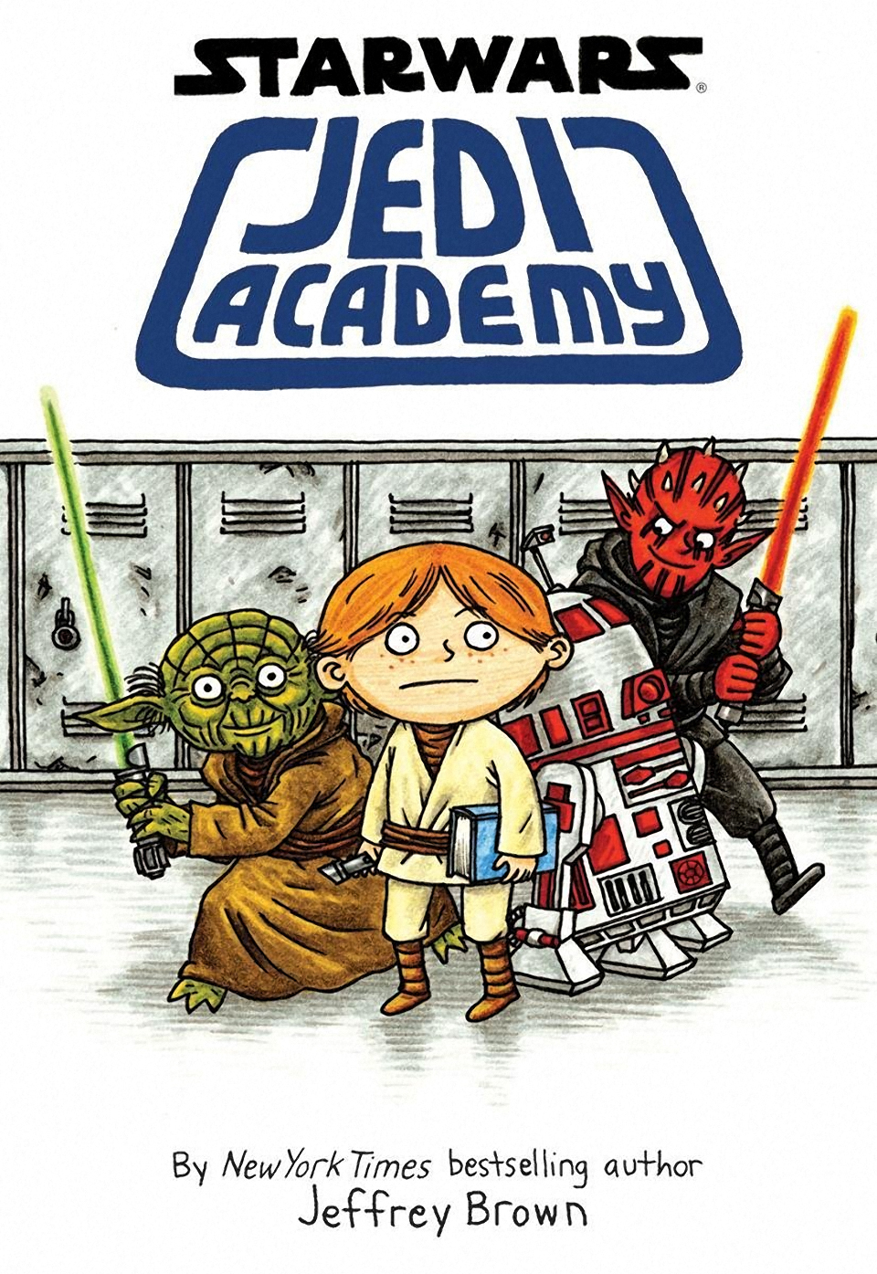 New from Jeffrey Brown: Star Wars: Jedi Academy
