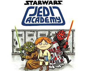 New from Jeffrey Brown: Star Wars: Jedi Academy