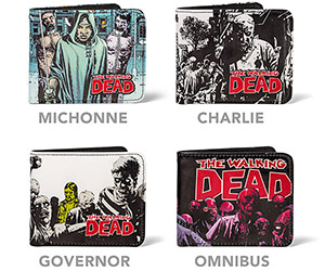The Walking Dead Wallets: Must Buy Brains