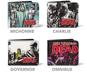 The Walking Dead Wallets: Must Buy Brains