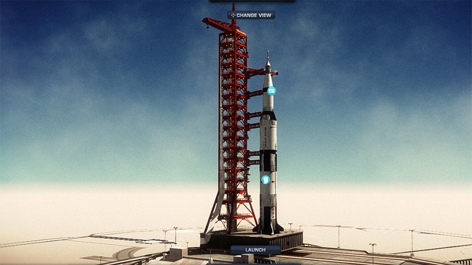 A critique of we choose the moon an interactive website about the apollo 11 mission