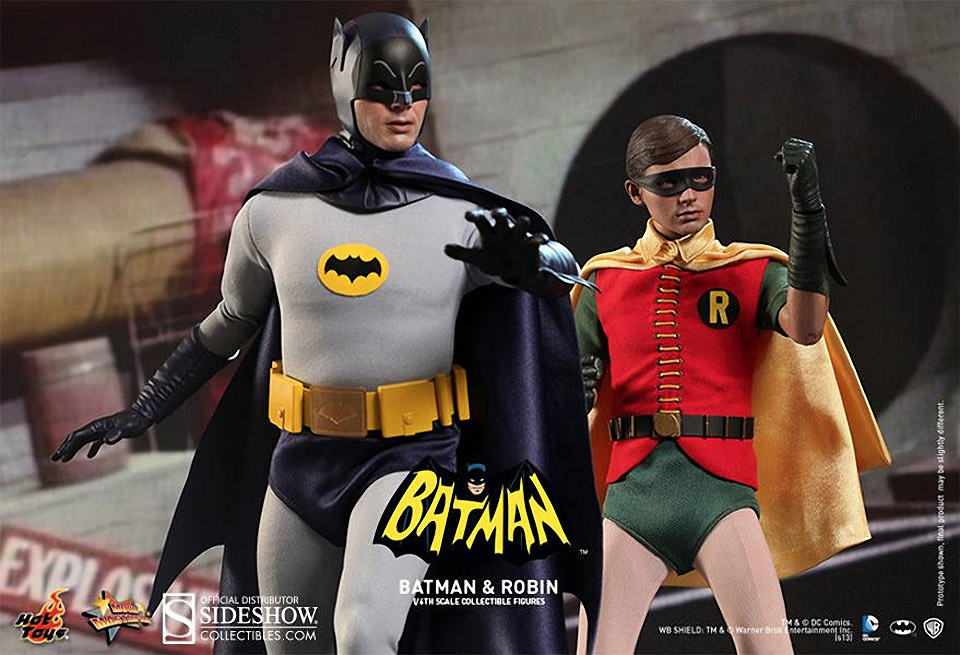 Amazing 1/6th Scale 1966 Batman and Robin
